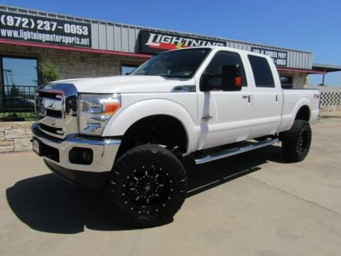 2014 Ford F-250 Super Duty for sale at Lightning Motorsports in Grand Prairie TX