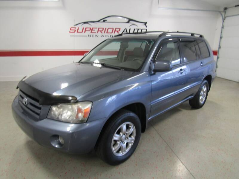 2006 Toyota Highlander for sale at Superior Auto Sales in New Windsor NY