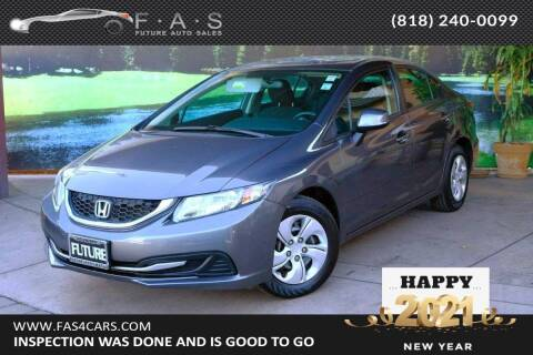 2013 Honda Civic for sale at Best Car Buy in Glendale CA