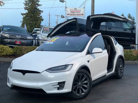 2018 Tesla Model X for sale at Real Deal Cars in Everett WA
