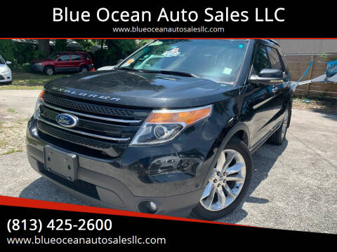 2011 Ford Explorer for sale at Blue Ocean Auto Sales LLC in Tampa FL
