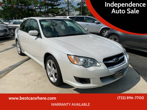 2008 Subaru Legacy for sale at Independence Auto Sale in Bordentown NJ