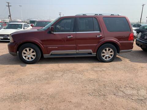 2003 Lincoln Navigator for sale at PYRAMID MOTORS - Fountain Lot in Fountain CO