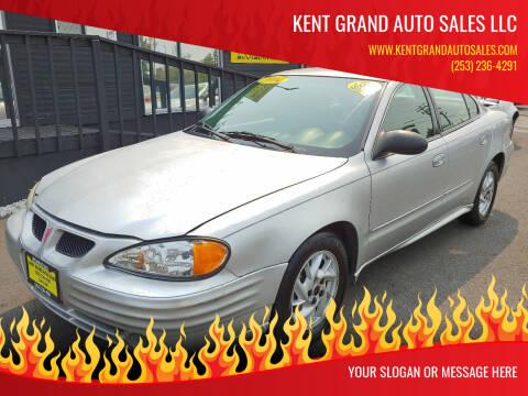 2004 Pontiac Grand Am for sale at KENT GRAND AUTO SALES LLC in Kent WA