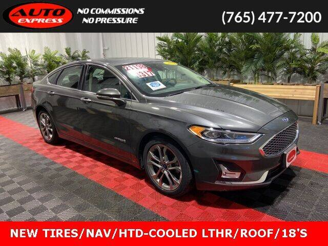 2019 Ford Fusion Hybrid for sale in Lafayette, IN