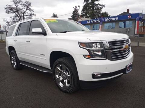 2015 Chevrolet Tahoe for sale at All American Motors in Tacoma WA