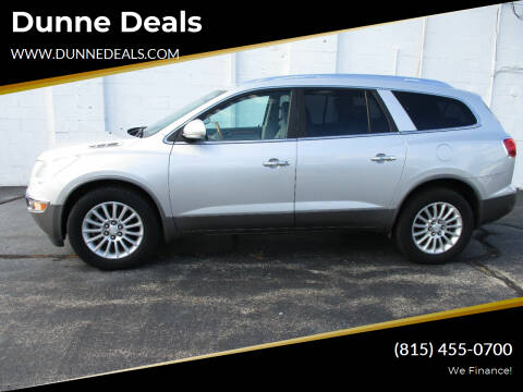 2012 Buick Enclave for sale at Dunne Deals in Crystal Lake IL