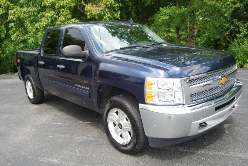 2012 Chevrolet Silverado 1500 for sale at DOE RIVER AUTO SALES in Elizabethton TN