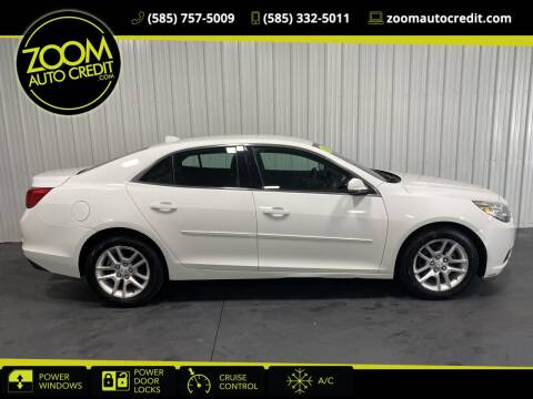2014 Chevrolet Malibu for sale at ZoomAutoCredit.com in Elba NY