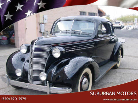 1938 Chevrolet Master Deluxe for sale at Suburban Motors in Tucson AZ