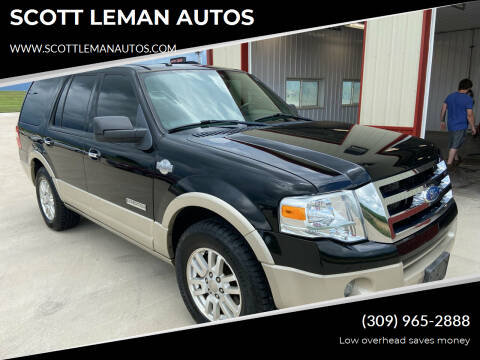 2008 Ford Expedition for sale at SCOTT LEMAN AUTOS in Goodfield IL