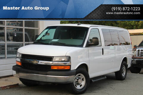 2016 Chevrolet Express Passenger for sale at Master Auto Group in Raleigh NC