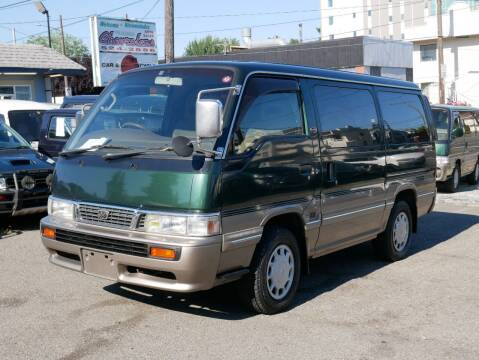 1996 Nissan Homy for sale at JDM Car & Motorcycle LLC in Seattle WA
