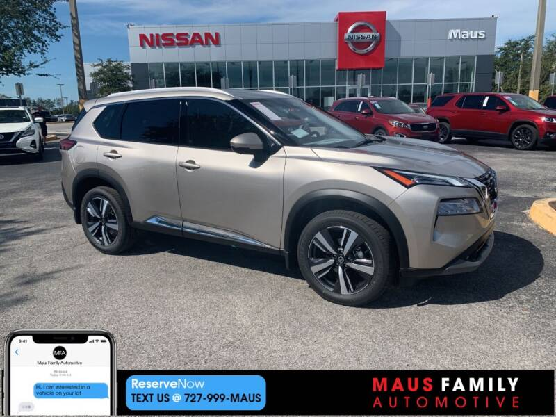 2021 Nissan Rogue for sale in New Port Richey, FL