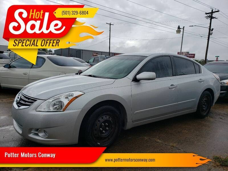 2012 Nissan Altima for sale at Potter Motors Conway in Conway AR