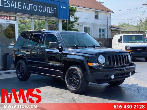 2015 Jeep Patriot for sale at MWS Wholesale  Auto Outlet in Grand Rapids MI