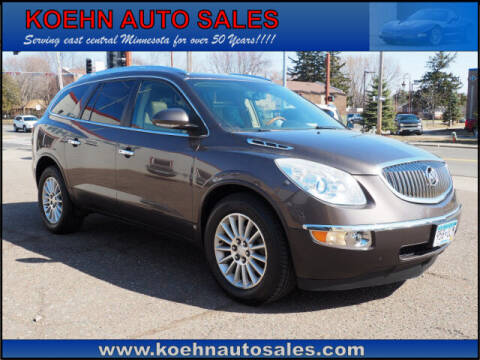 2008 Buick Enclave for sale at Koehn Auto Sales in Lindstrom MN