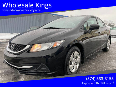 2014 Honda Civic for sale at Wholesale Kings in Elkhart IN