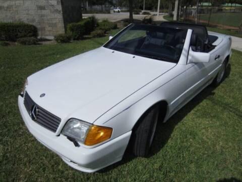 1991 Mercedes-Benz SL-Class for sale at Classic Car Deals in Cadillac MI