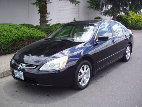 2005 Honda Accord for sale at K W Imports in Salem OR