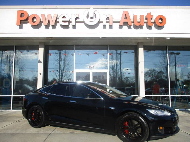 2014 Tesla Model S for sale at Power On Auto LLC in Monroe NC