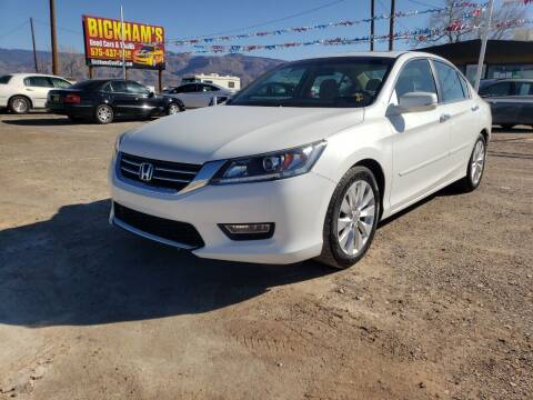 2013 Honda Accord for sale at Bickham Used Cars in Alamogordo NM
