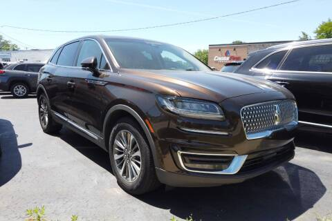 2019 Lincoln Nautilus for sale at RS Motors in Falconer NY
