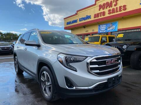2019 GMC Terrain for sale at Popas Auto Sales in Detroit MI