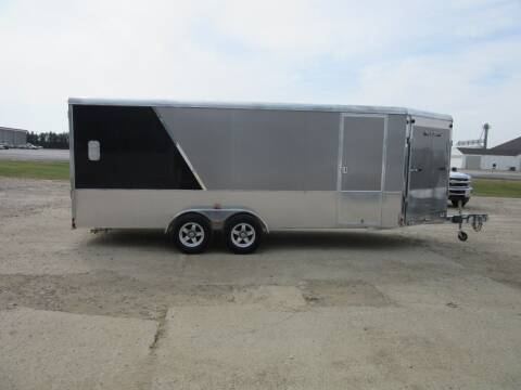 2016 Aluma 7' X 18' + 5 for sale at Nore's Auto & Trailer Sales - Used Trailers in Kenmare ND