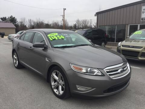 2012 Ford Taurus for sale at KEITH JORDAN'S 10 & UNDER in Lima OH