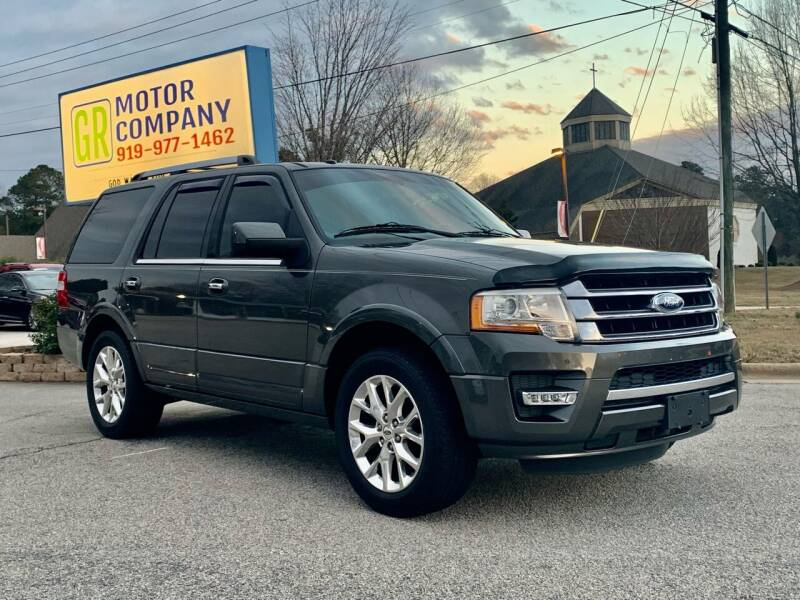 2015 Ford Expedition for sale at GR Motor Company in Garner NC