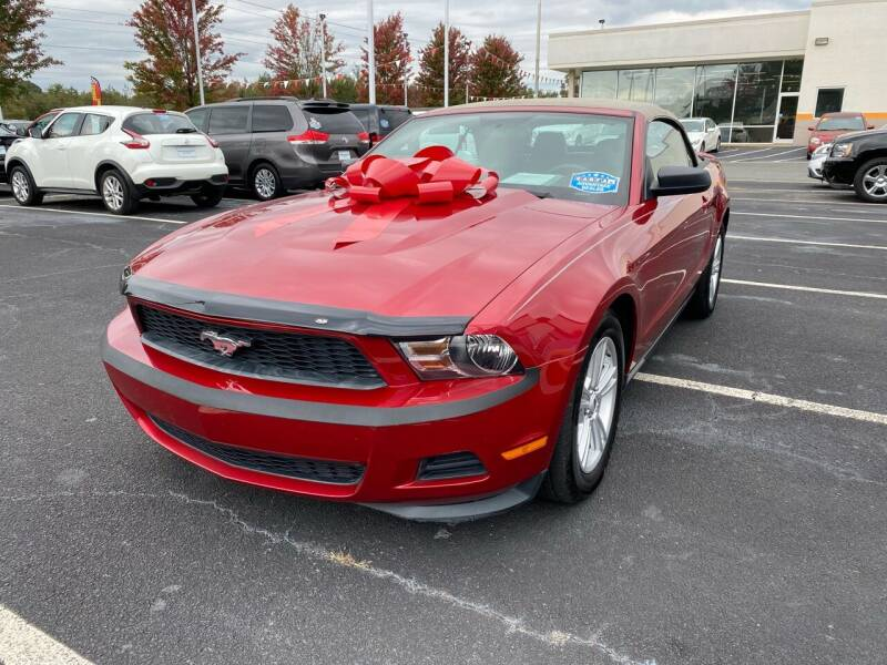 2011 Ford Mustang for sale at Charlotte Auto Group, Inc in Monroe NC