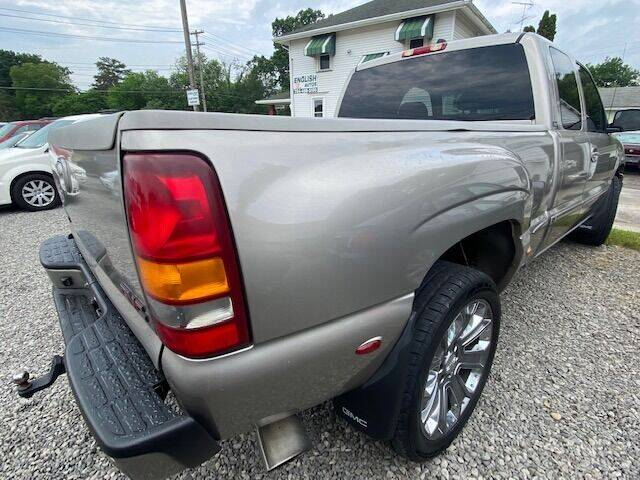 2002 GMC Sierra 1500 for sale at English Autos in Grove City PA