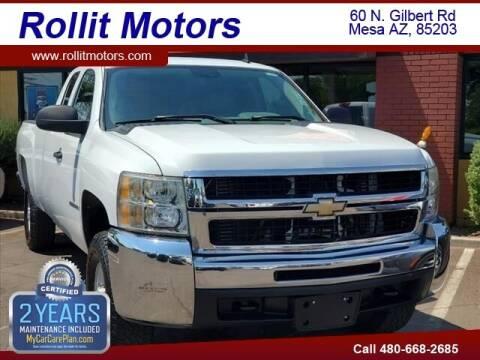 2009 Chevrolet Silverado 2500HD for sale at Rollit Motors in Mesa AZ