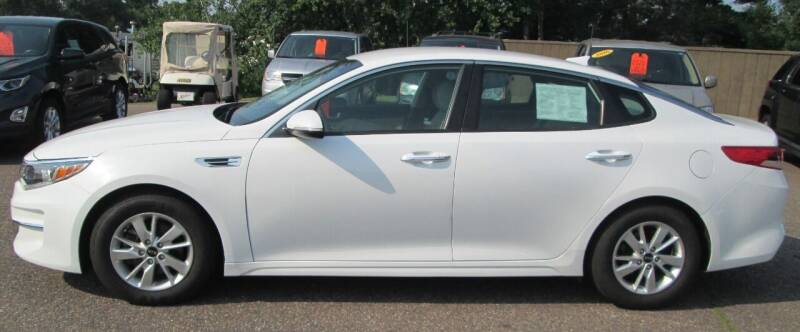 2017 Kia Optima for sale at AUTOHAUS in Tomahawk WI
