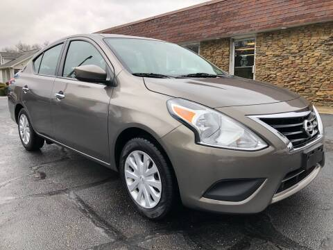 2016 Nissan Versa for sale at Approved Motors in Dillonvale OH