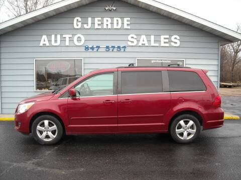 2011 Volkswagen Routan for sale at GJERDE AUTO SALES in Detroit Lakes MN