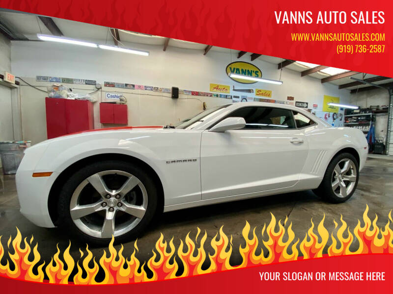 2011 Chevrolet Camaro for sale at Vanns Auto Sales in Goldsboro NC