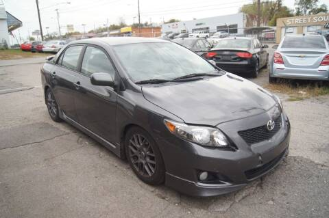 2010 Toyota Corolla for sale at Green Ride Inc in Nashville TN