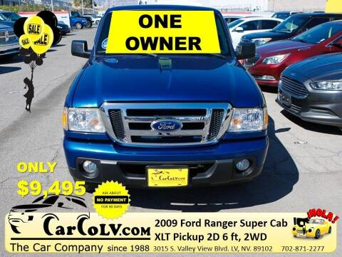 2009 Ford Ranger for sale at The Car Company in Las Vegas NV