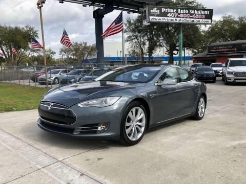 2013 Tesla Model S for sale at Prime Auto Solutions in Orlando FL