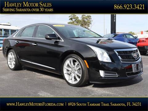 2014 Cadillac XTS for sale at Hawley Motor Sales in Sarasota FL