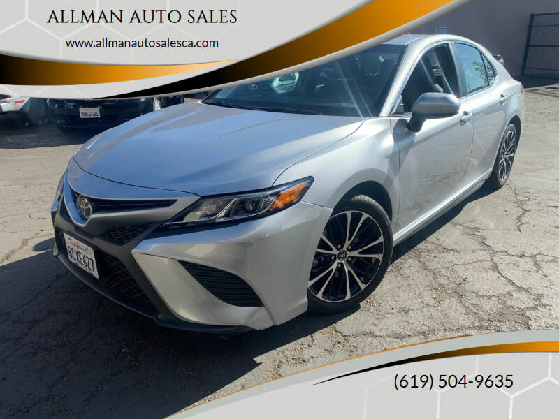 2018 Toyota Camry for sale at ALLMAN AUTO SALES in San Diego CA