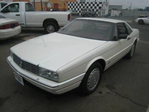 1989 Cadillac Allante for sale at Valley Auto Sales & Advanced Equipment in Stockton CA
