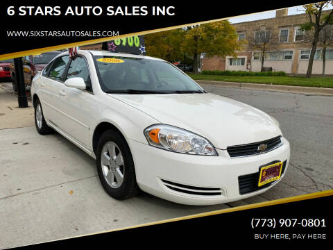 2008 Chevrolet Impala for sale at 6 STARS AUTO SALES INC in Chicago IL