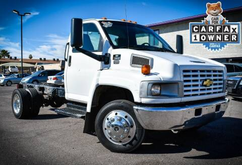 2005 Chevrolet C5500 for sale at Rahimi Automotive Group in Yuma AZ