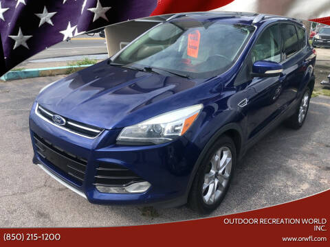 2014 Ford Escape for sale at Outdoor Recreation World Inc. in Panama City FL