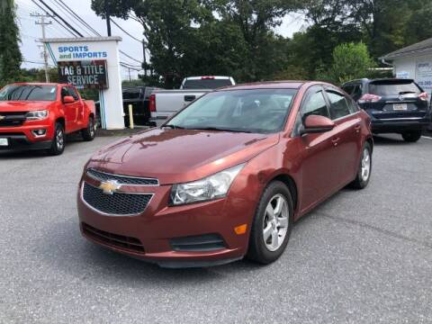 2012 Chevrolet Cruze for sale at Sports & Imports in Pasadena MD