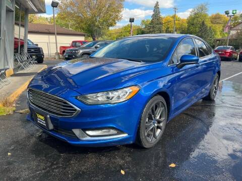2018 Ford Fusion for sale at Chinos Auto Sales in Crystal MN