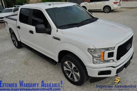 2019 Ford F-150 for sale at Supreme Automotive in Land O Lakes FL